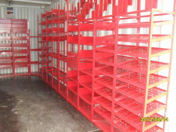 allestimenti interni container magazzino 3